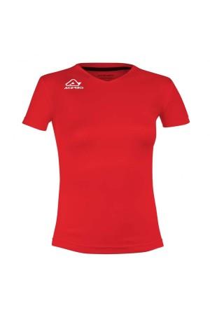 Acerbis Devi T-shirt 0910045.110 Κοκκινο