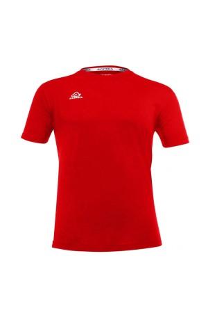 Acerbis Easy 0910018.110 T-shirt μακο Κοκκινο