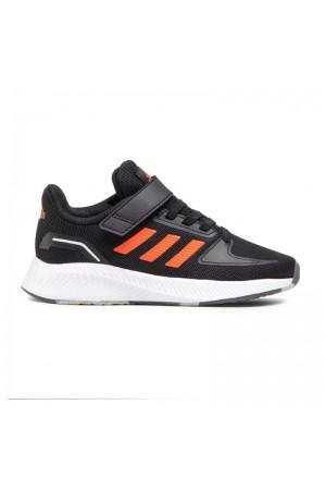 Adidas Runfalcon 2.0 FZ0116 Μαυρο-πορτοκαλι