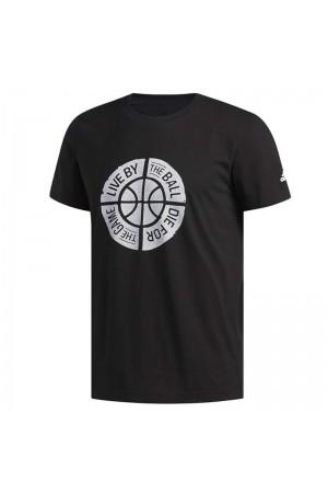 Adidas T-shirt DU6448 Μαυρο