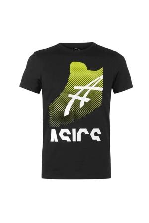 Asics T-shirt 2031Β049-001 Μαυρο