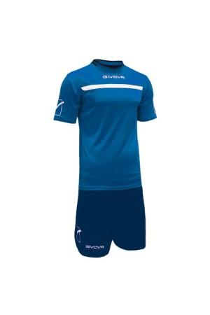 Givova Kit One C58-0204 ρουα-μπλε