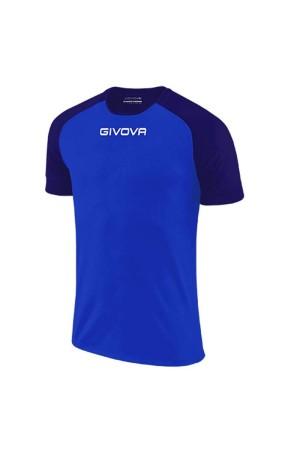 Givova shirt Capo MAC03-0204 Ρουα-μπλε