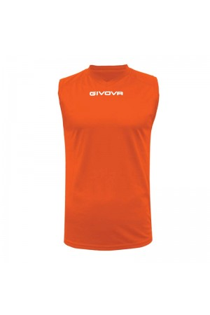 Shirt smanicato givova one MAC02-0028 Πορτοκαλι