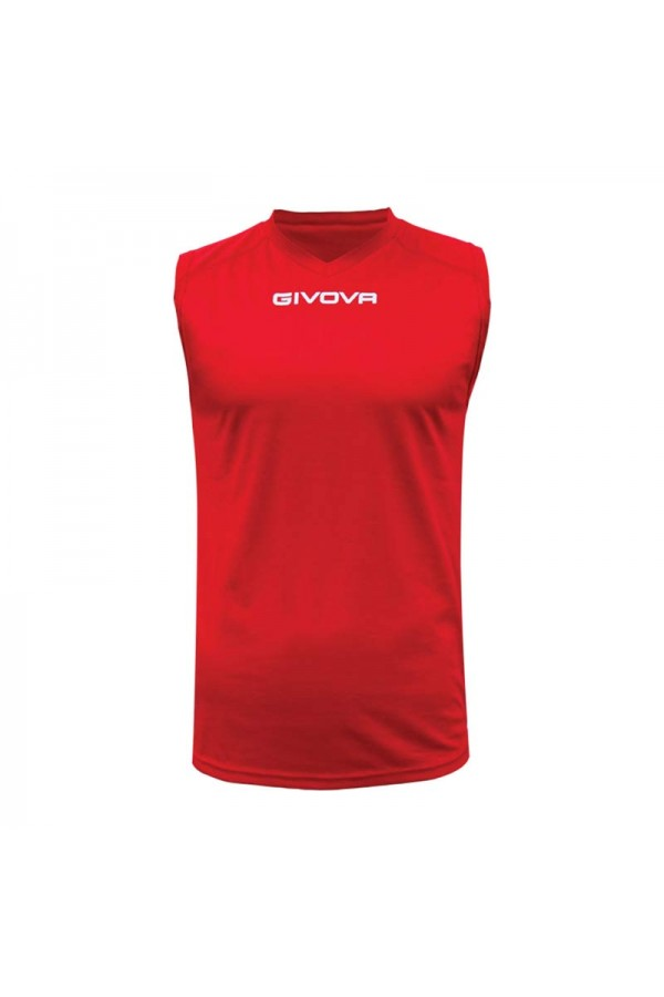 Shirt smanicato givova one MAC02-0012 Κοκκινο