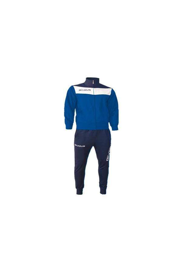 Givova Tuta Campo TR024-0204-μπλε-ρουα-λευκο