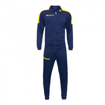 Givova Tuta Revolution TR033-0407 Μπλε-κιτρινο
