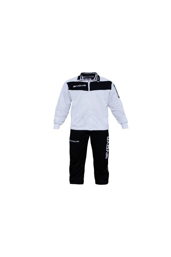 Givova Tuta Vela TR019-0310-Λευκο-μαυρο