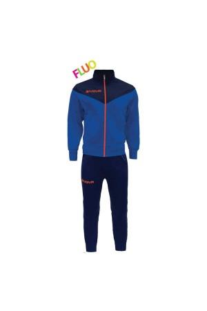 Givova Tuta Venezia fluo 0228 TRF030 Μπλε-Ρουα