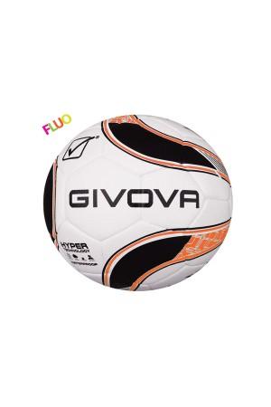 Givova Pallone Hyper P014-1028-λευκο-μαυρο-πορτοκαλι