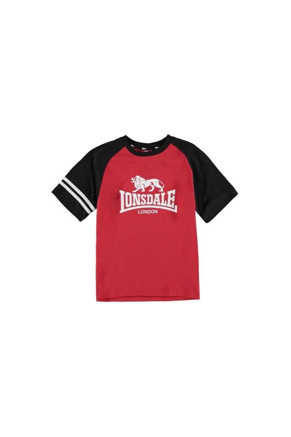 Lonsdale t-shirt 11-12 χρονων κοκκινο