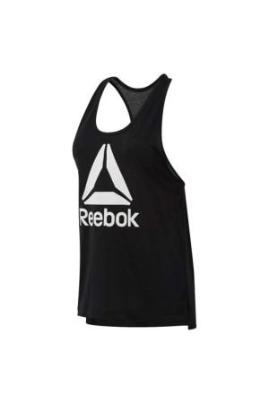 Reebok Αμανικη μπλουζα DU4857 Μαυρο