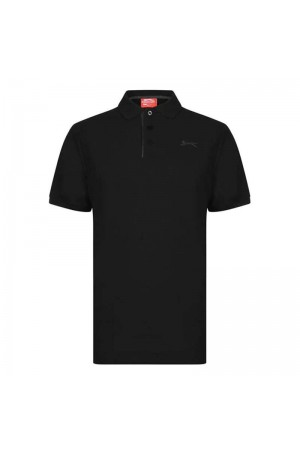 Slazenger Polo T-shirt Μαυρο