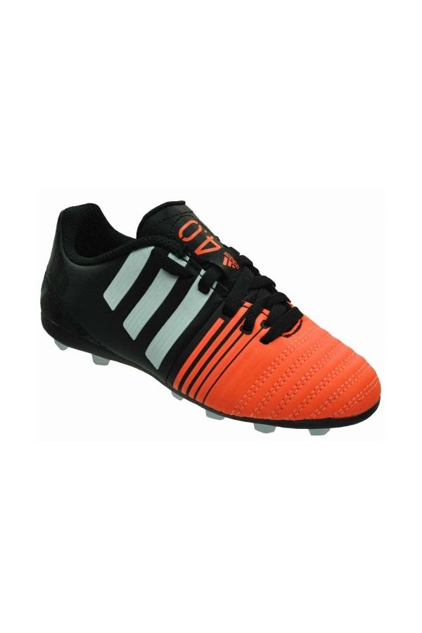 Adidas Nitrocharge 4.0 FxG B40654 μαυρο-λευκο-πορτοκαλι