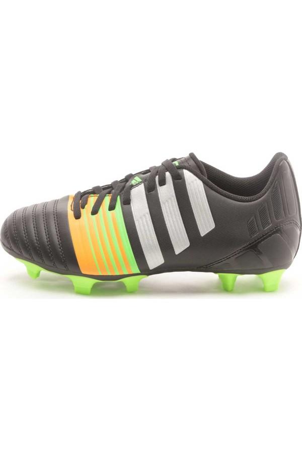 Adidas Nitrocharge 4.0 FG M29949-μαυρο-ασημι-λαχανι