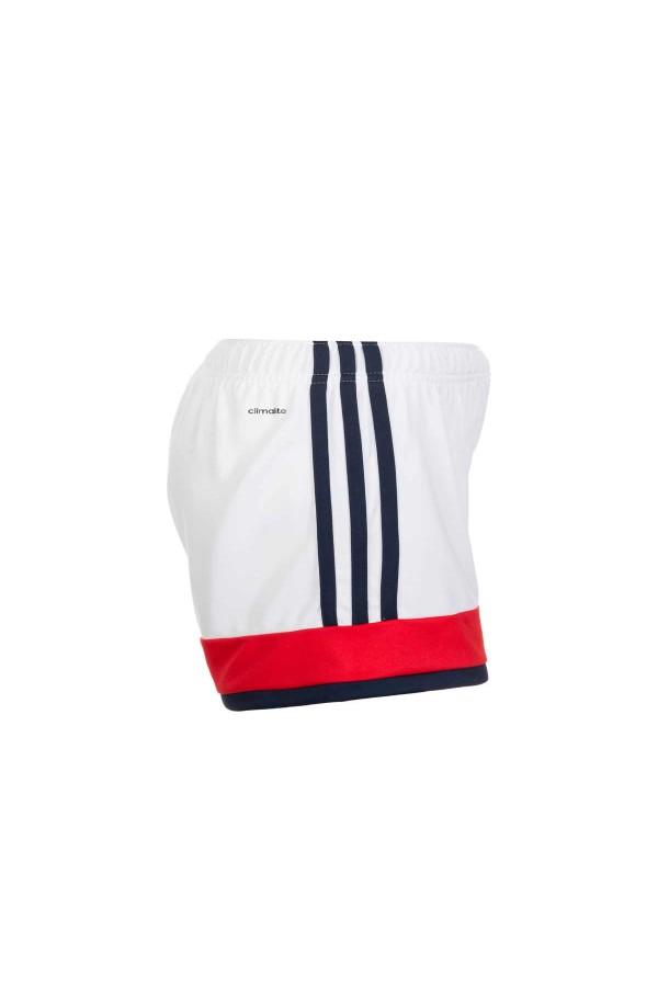 Adidas AJ1393 σορτς παιδικο 5-6 χρονων λευκο-μπλε-κοκκινο