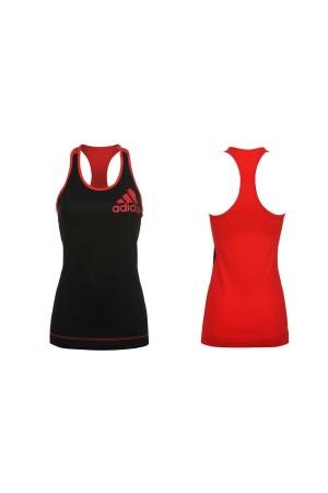 Adidas Technifit women μαυρο-κοκκινο