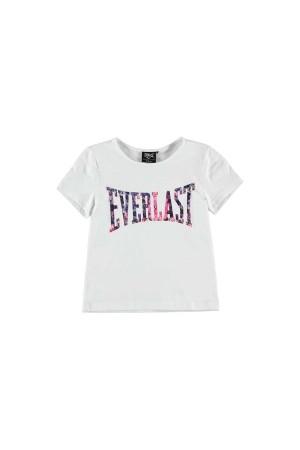 Everlast T-Shirt 11-12χρονων λευκο-ροζ