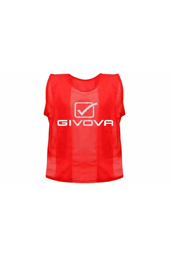 Givova Casacca Pro CT01 σαλιαρα προπονησης κοκκινη