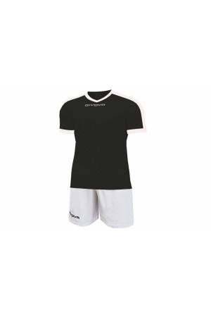 Kit Givova Revolution C59 1003 Εμφάνιση Ποδοσφαίρου μαυρο-λευκο