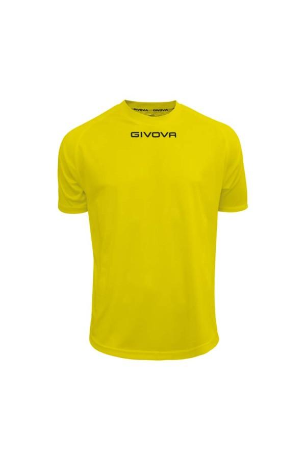 Givova shirt one MAC01 Εμφανιση 0007-κιτρινο