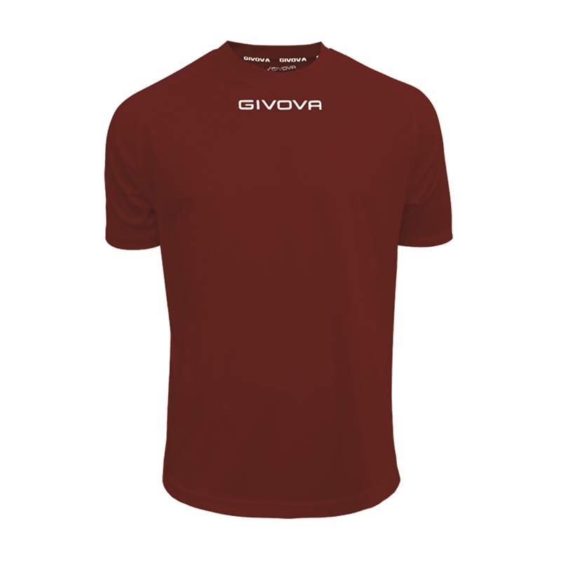 Givova shirt one MAC01 Εμφανιση 0009-μπορντο
