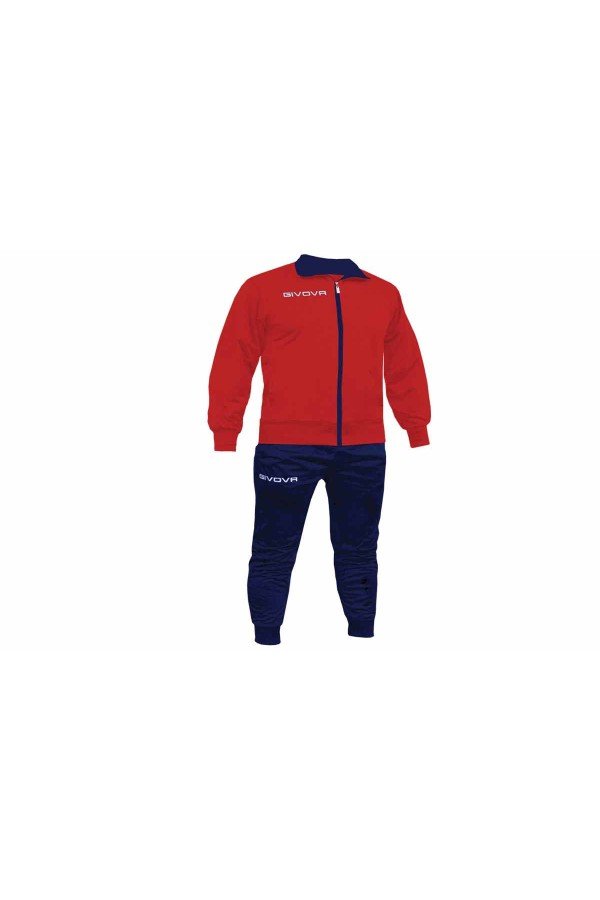 Givova Tuta Torino TR031-1204 κοκκινο-μπλε