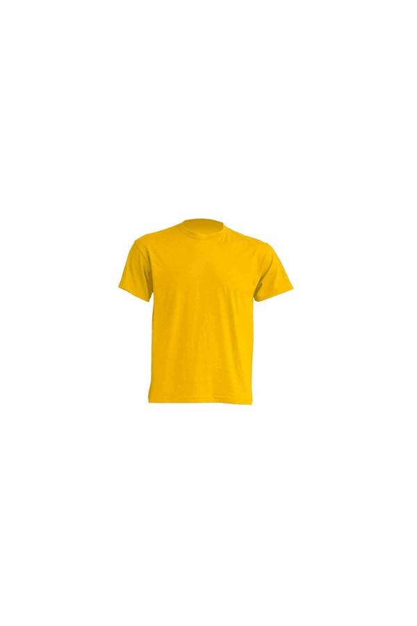 JHK ανδρικο t-shirt μακο κιτρινο gold
