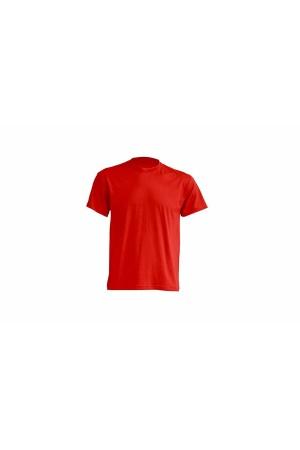 JHK ανδρικο t-shirt μακο κοκκινο
