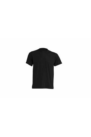JHK ανδρικο t-shirt μακο μαυρο