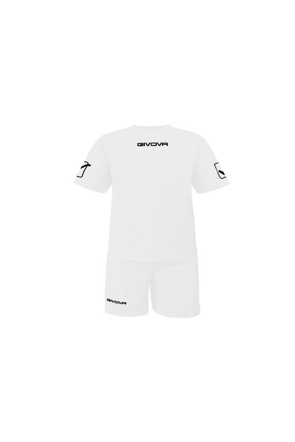 Kit Givova C48 εμφανιση ποδοσφαιρου-0003 λευκο