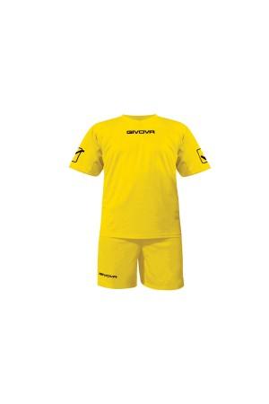 Kit Givova C48 εμφανιση ποδοσφαιρου-0007 κιτρινο