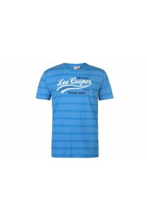 Lee Cooper T-Shirt γαλαζιο-ρουα