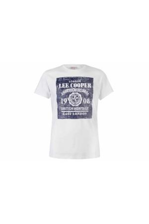Lee Cooper T-Shirt λευκο