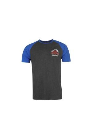 Lee Cooper T-Shirt-γκρι-μπλε