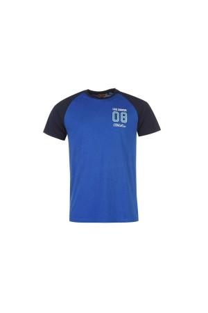 Lee Cooper T-Shirt-μπλε-ρουα