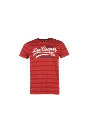 Lee Cooper T-Shirt κοκκινο