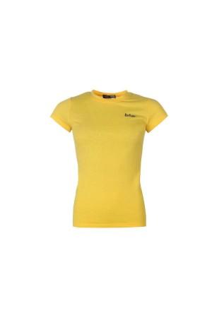 Lee Cooper T-Shirt κιτρινο