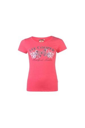 Lee Cooper T-Shirt ροζ