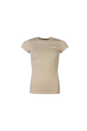 Lee Cooper T-Shirt καφε-χακι
