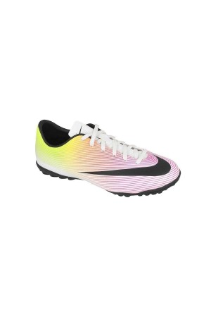 Nike JR Mercurial Victory V TF 651641-107 λευκο-ροζ-λαχανι-μαυρο