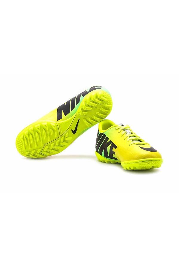 Nike JR Mercurial Victory IV TF 555634-703 κιτρινο-λαχανι-μαυρο