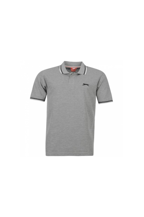 Slazenger Polo T-shirt-γκρι