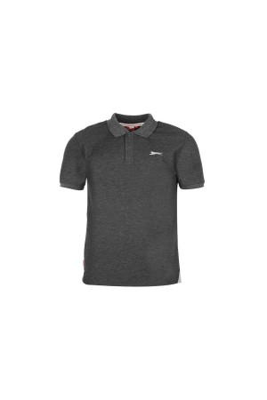 Slazenger Polo T-shirt-γκρι σκουρο