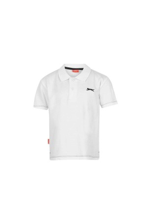 Slazenger Polo T-shirt-παιδικο-2-3χρονων-λευκο