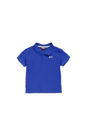 Slazenger Polo T-shirt-παιδικο-5-6χρονων-μπλε