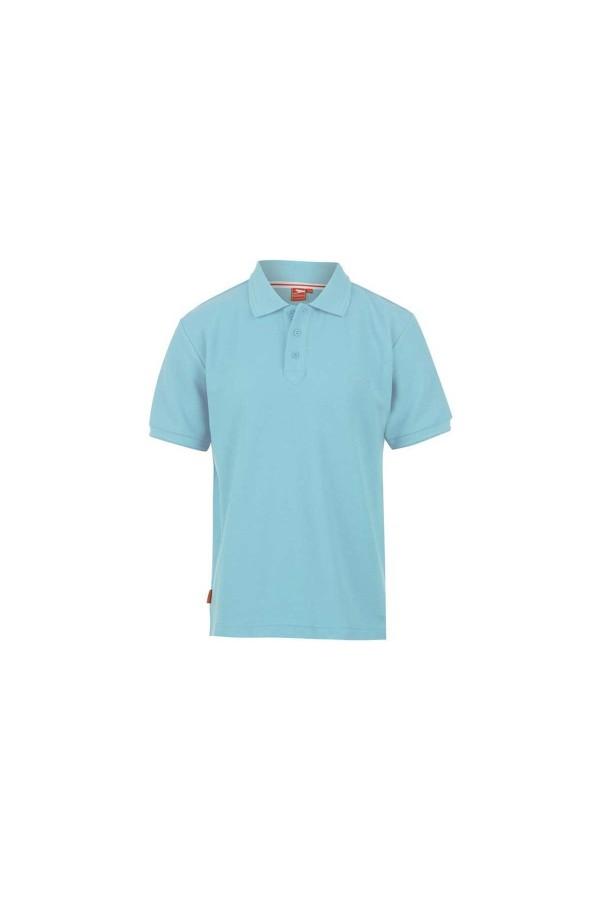 Slazenger Polo T-shirt-παιδικο-13 χρονων γαλαζιο
