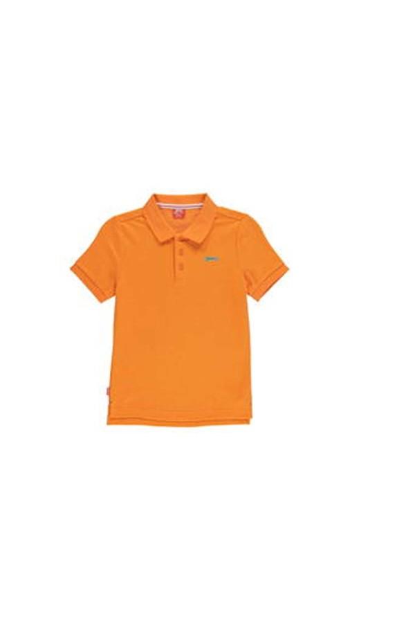 Slazenger Polo T-shirt-παιδικο-5-6χρονων-πορτοκαλι