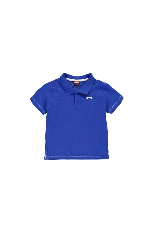 Slazenger Polo T-shirt-παιδικο-3-4χρονων-ρουα