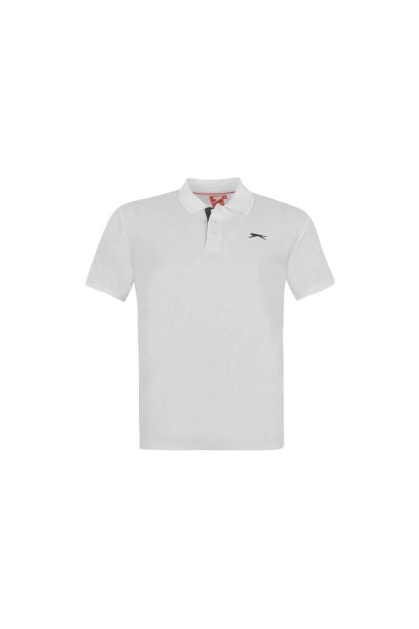 Slazenger Polo T-shirt-λευκο